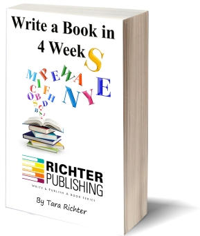 Write a Book in 4 Weeks by Tara Richter. Amazon Best Seller! Tara Richter has been featured on ABC, Daytime TV, CNN, Channel 10 News, FOX & radio stations all over the world as the expert on writing! This guide book shot up to the Best Sellers status once it was released in the audio version. Get the ground breaking tips in a short, easy to read manual to help you write YOUR own Best Seller!