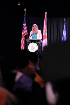 Tara Richter Keiser University Graduation Speech Images by Pierce Brunson Photography