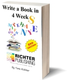 Write a Book in 4 Weeks! https://www.amazon.com/Write-Book-Weeks-Richter-Publishing/dp/0692298940