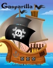 Gasparilla Coloring Book Front Cover