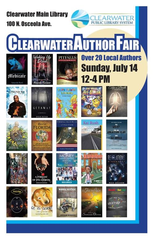 Clearwater Library Fair July 14th