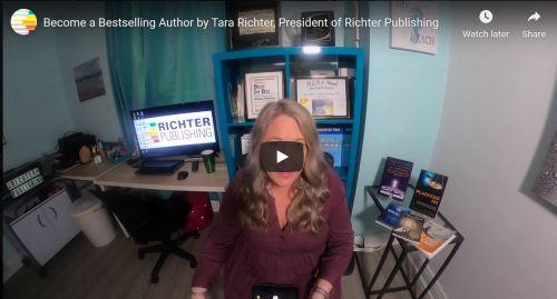 becomihng a best seller- Youtube Screenshot