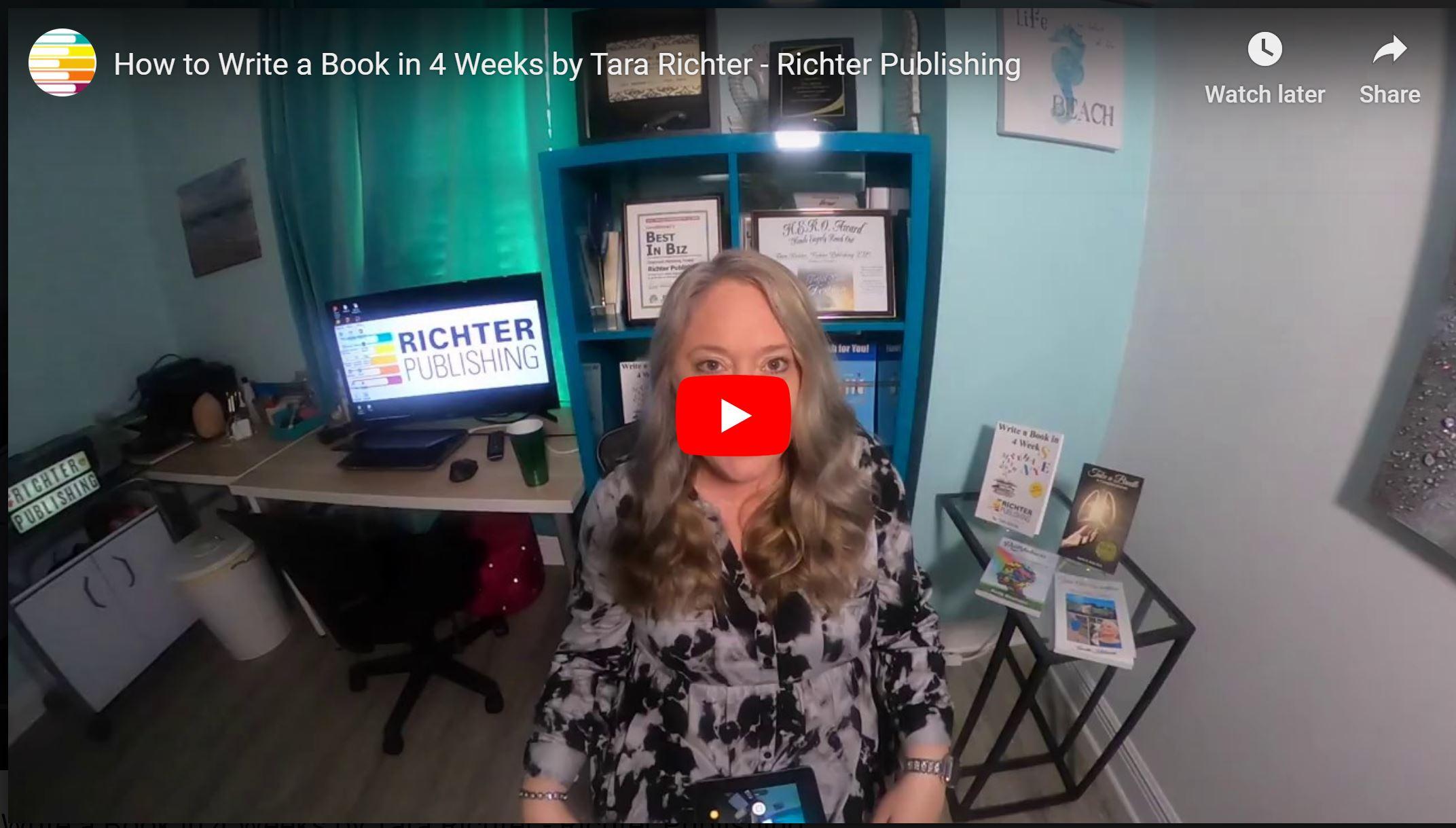 How to Write a Book in Four Weeks- Youtube Screenshot.JPG